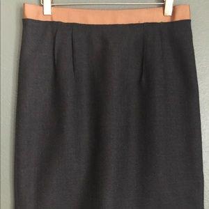 LOFT Pencil Skirt with Ribbon Trim